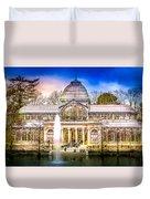 Cristal Palace Retiro Madrid Duvet Cover