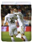Cristiano Ronaldo Duvet Cover