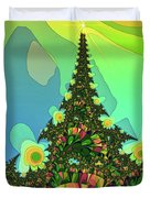 Cristmas Tree 2 Duvet Cover