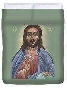 Cristo Pantocrator 175 Duvet Cover