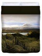 Croagh Patrick, County Mayo, Ireland Duvet Cover