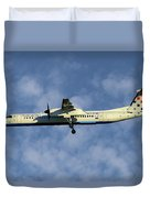 Croatia Airlines Bombardier Dash 8 Q400 Duvet Cover