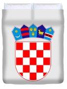 Croatia Coat Of Arms Duvet Cover