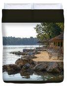Croatia Seaside Duvet Cover