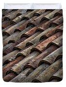 Croatian Roof Tiles Duvet Cover