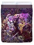 Crochet Handmade Yarn Needlework  Duvet Cover