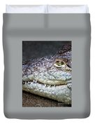 Crocodile Eye Duvet Cover