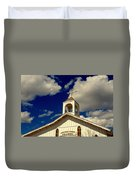 Crooked Creek Chapel Duvet Cover