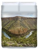 Crooked River Gorge Duvet Cover