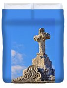 Cross 1-greenwood Cemetary Duvet Cover