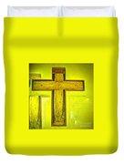 Simple Cross Duvet Cover