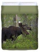 Cross Moose Duvet Cover
