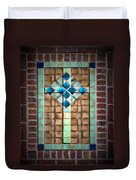 Cross On The Wall Duvet Cover