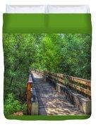 Cross Over The Bridge - Sedona Arizona Duvet Cover
