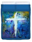 Cross - Painting #4 Duvet Cover