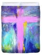 Cross - Painting #5 Duvet Cover