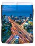 Cross Town Traffic Duvet Cover