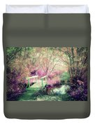 Cross With Me Duvet Cover