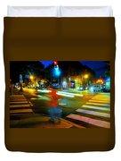 Crossing Pearl Duvet Cover