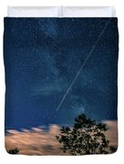 Crossing The Milky Way Duvet Cover