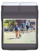 Crossing West 79th Duvet Cover