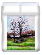 Crossroads Duvet Cover