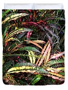 Croton 1 Duvet Cover by Eikoni Images