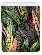 Croton 3 Duvet Cover by Eikoni Images