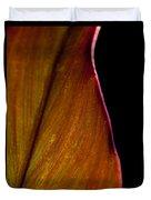 Croton Leaf Duvet Cover