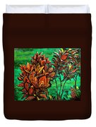 Crotons 5 Duvet Cover