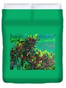 Crotons 7 Duvet Cover