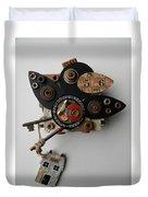 Crow Home Duvet Cover by Jen Hardwick