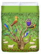 Crowded Tree Duvet Cover