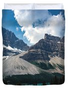 Crowfoot Mountain Duvet Cover