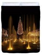Crown Center Christmas 2 Duvet Cover