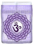 Crown Chakra - Awareness Duvet Cover