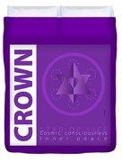 Crown Chakra Series Three Duvet Cover