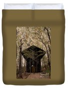 Crown Of Thorns Chapel Duvet Cover