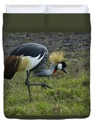 Crowned Crane Duvet Cover