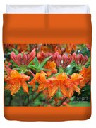 Crowned Creamsicles Duvet Cover