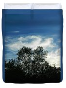 Crowned Trees Duvet Cover