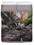 Crows Nest Falls During The Day. Duvet Cover