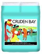 Cruden Bay, Golf Club, East Coast Route Duvet Cover