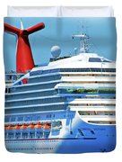 Cruising Again Duvet Cover by Harry Warrick