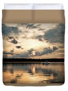 Cruising, Eagle Lake, Almaguin Highlands, Ontario Duvet Cover
