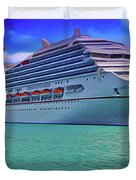 Cruising Duvet Cover by Harry Warrick