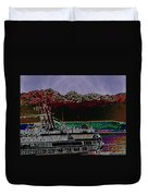 Cruising Puget Sound Duvet Cover