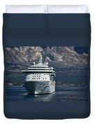 Cruising The Adriatic Sea Duvet Cover