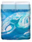 Crushing Wave Duvet Cover