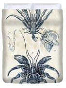 Crustaceans - 1825 - 28 Duvet Cover